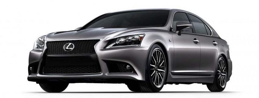 New Lexus LS unveiled, F Sport new addition to range Image #122848