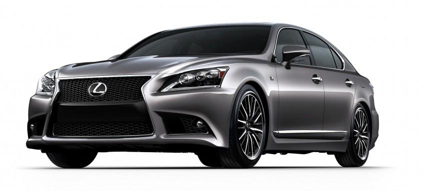 New Lexus LS unveiled, F Sport new addition to range Image #122367