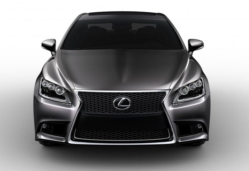 New Lexus LS unveiled, F Sport new addition to range Image #122368