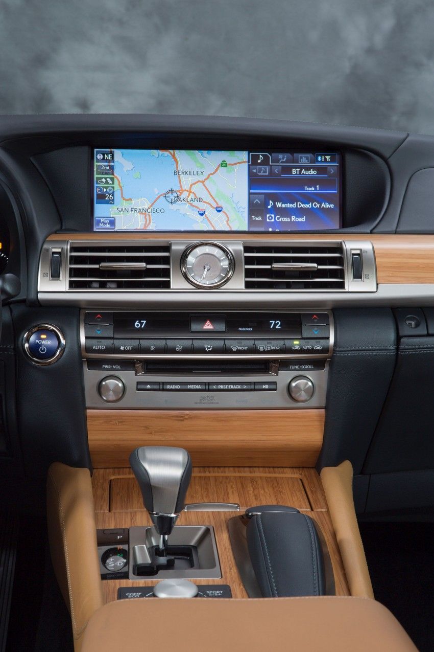 New Lexus LS unveiled, F Sport new addition to range Image #122332