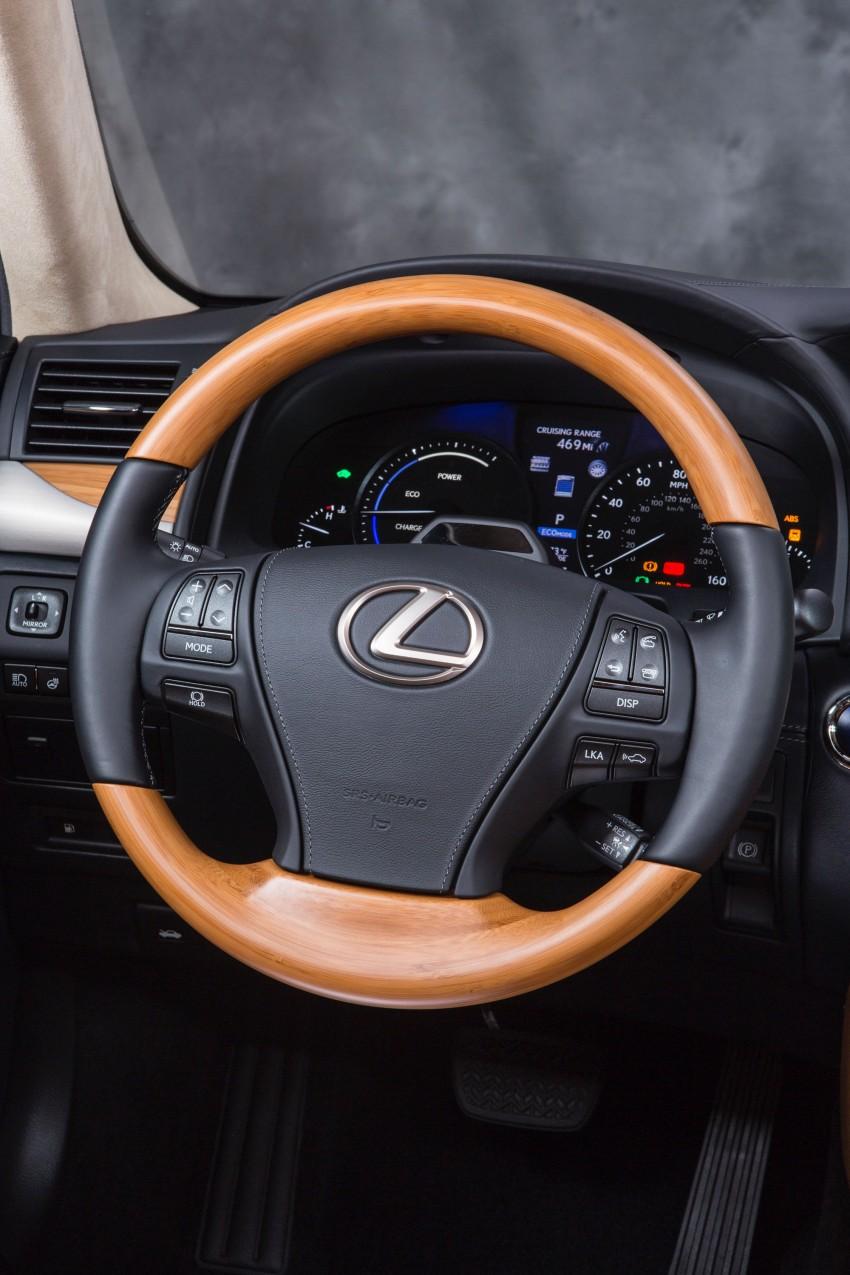 New Lexus LS unveiled, F Sport new addition to range Image #122333