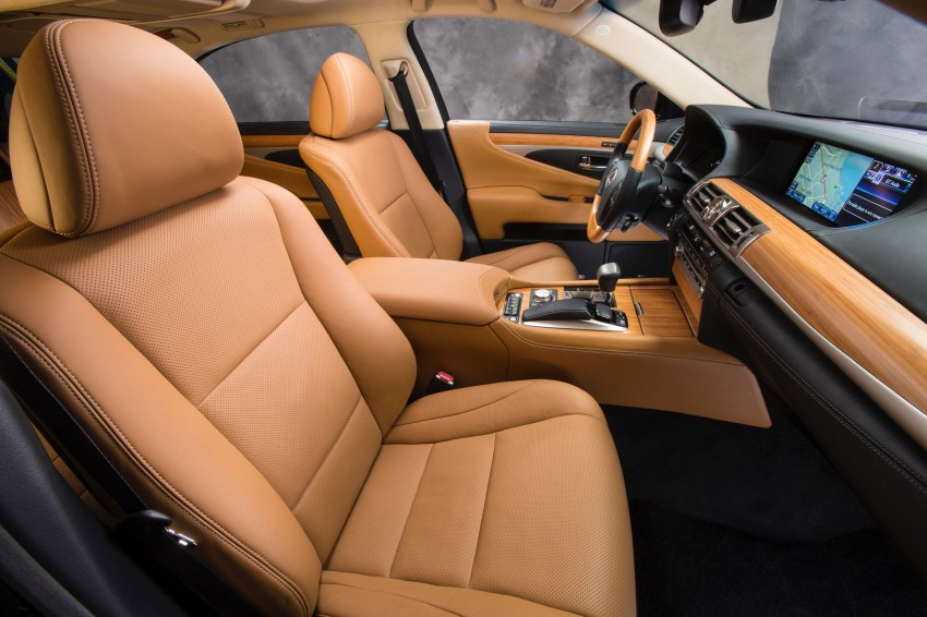 New Lexus LS unveiled, F Sport new addition to range Image #122334