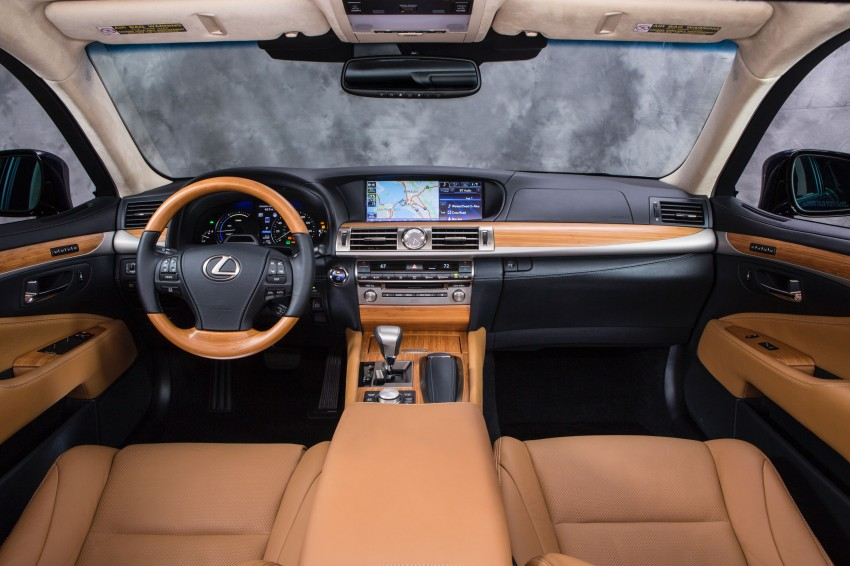 New Lexus LS unveiled, F Sport new addition to range Image #122335