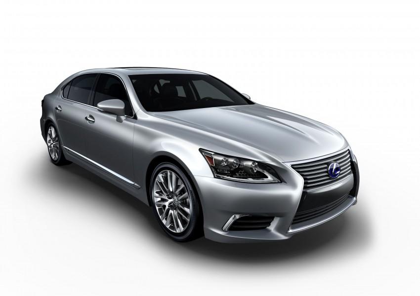 New Lexus LS unveiled, F Sport new addition to range Image #122343
