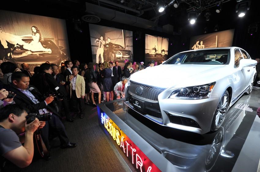 New Lexus LS unveiled, F Sport new addition to range Image #122347