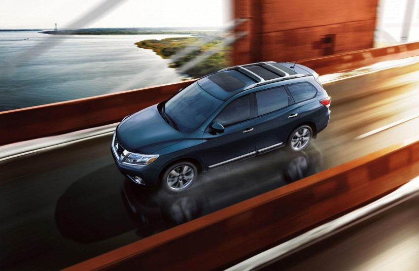 Production Nissan Pathfinder is identical to concept Image #122544