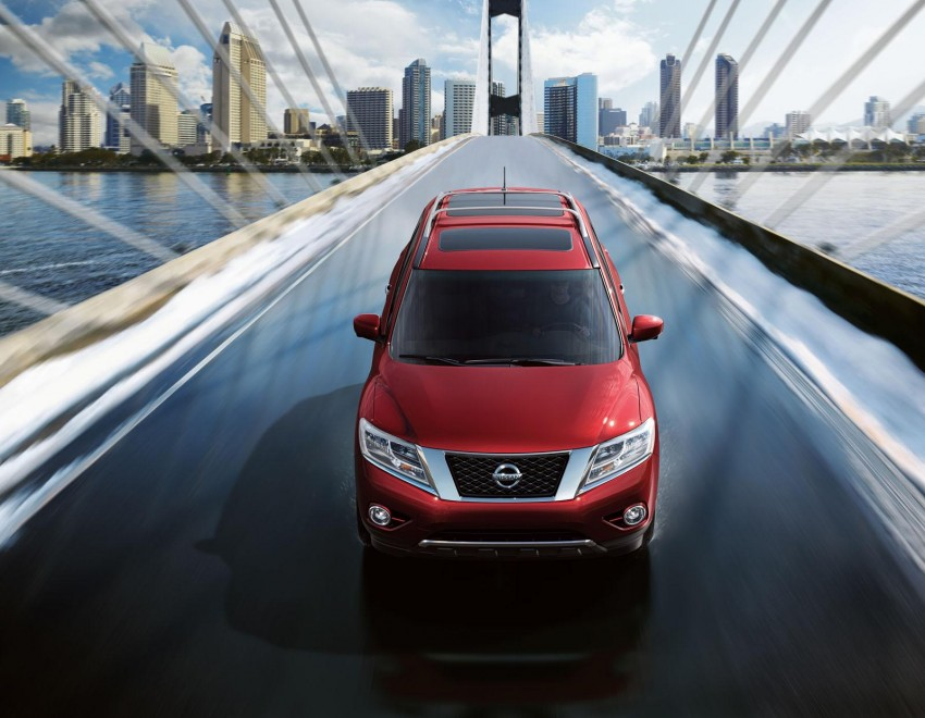 Production Nissan Pathfinder is identical to concept Image #122545