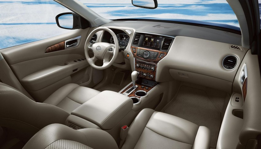 Production Nissan Pathfinder is identical to concept Image #122546