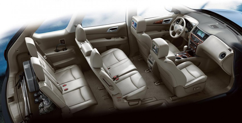 Production Nissan Pathfinder is identical to concept Image #122548