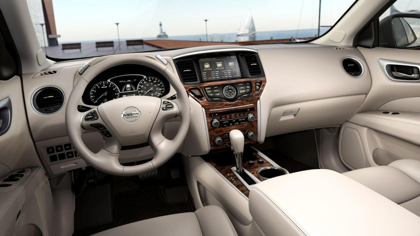 Production Nissan Pathfinder is identical to concept Image #122551