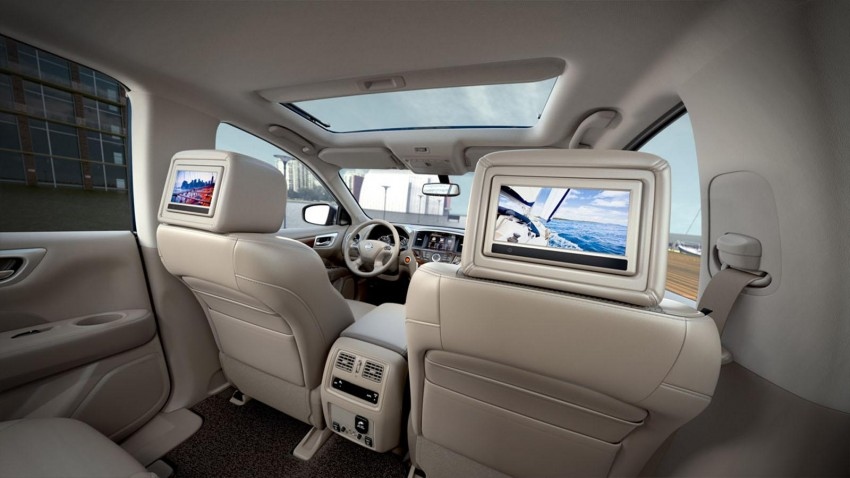 Production Nissan Pathfinder is identical to concept Image #122554