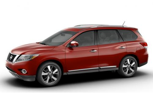 Production Nissan Pathfinder is identical to concept Image #122562
