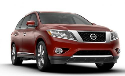 Production Nissan Pathfinder is identical to concept Image #122563
