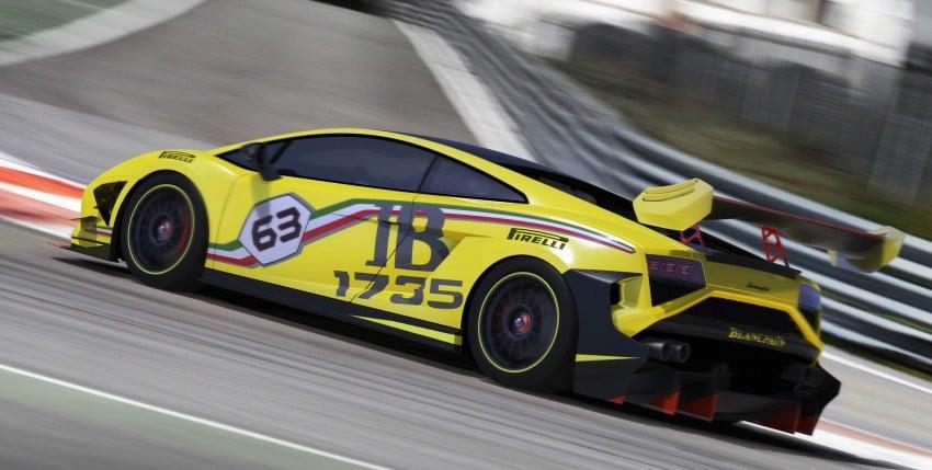Lamborghini Gallardo LP 570-4 Super Trofeo for 2013 Image #136704
