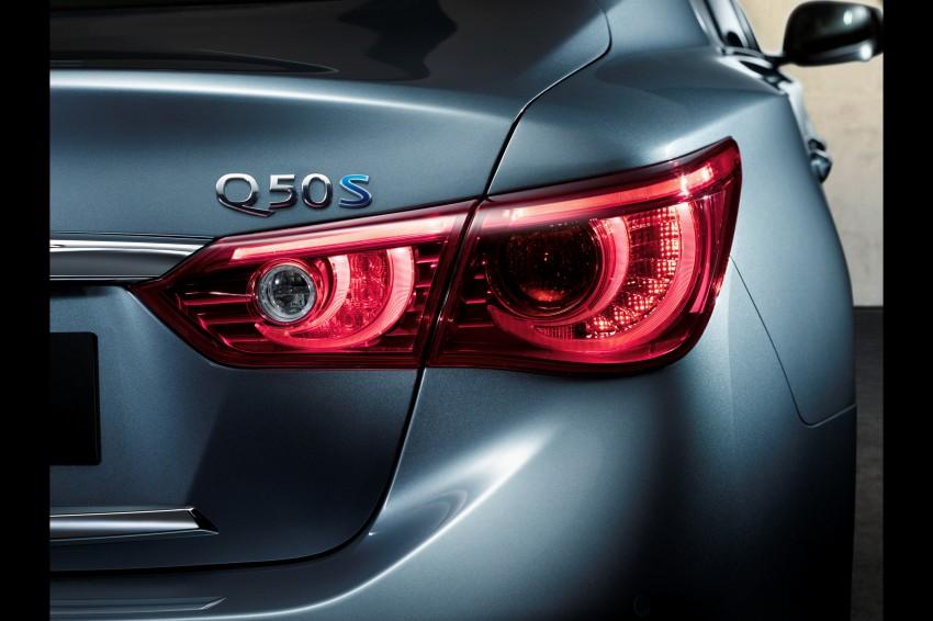 Infiniti Q50 and Q50 Hybrid unveiled at Detroit 2013 Image #183508