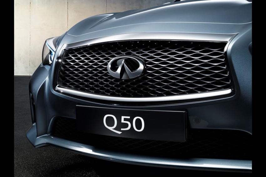 Infiniti Q50 and Q50 Hybrid unveiled at Detroit 2013 Image #183510