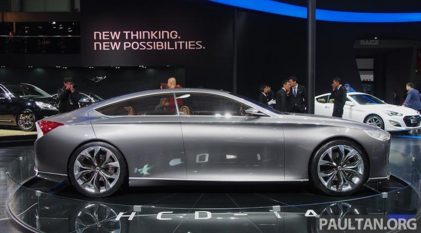 Hyundai HCD-14 Genesis Concept, RWD 4-door coupe Image #170054