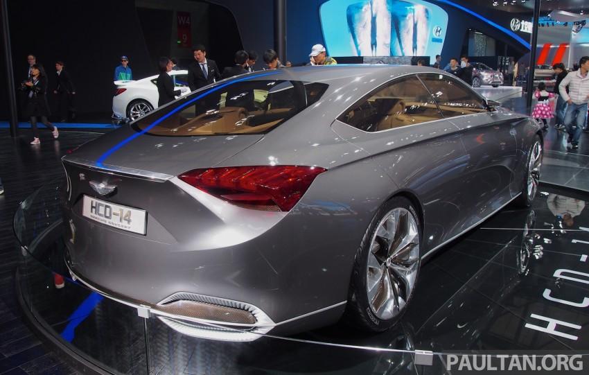 Hyundai HCD-14 Genesis Concept, RWD 4-door coupe Image #170057