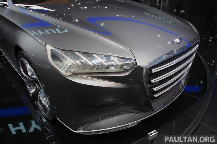 Hyundai HCD-14 Genesis Concept, RWD 4-door coupe Image #170059