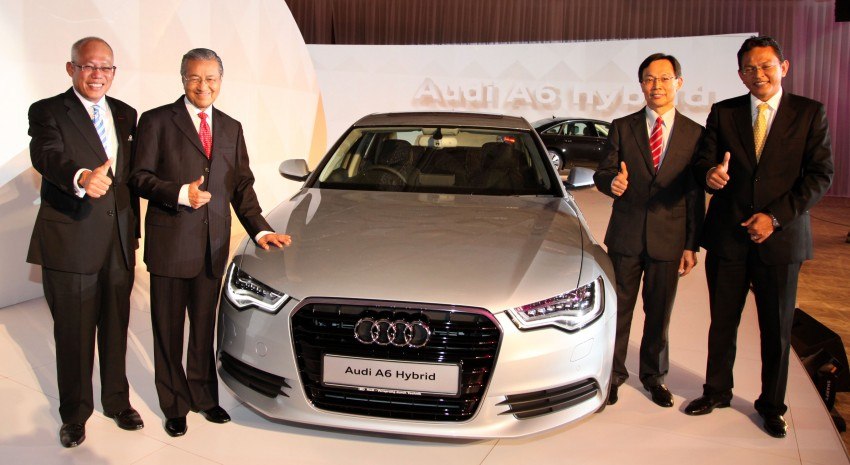 Audi A6 Hybrid officially launched – RM280k starting price, Comfort Key RM3k, reverse camera RM5k Image #158121