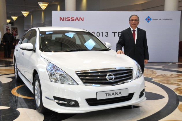 2013 Nissan Teana launched - now with black interior and BSW