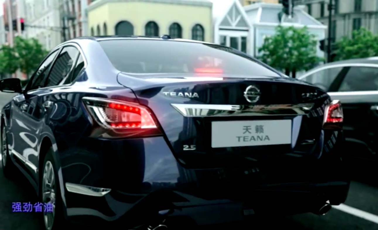 2014 Nissan Teana unveiled in China, based on Altima Paul ...