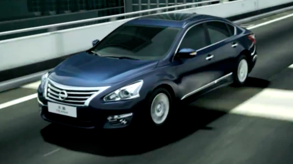 2014 Nissan Teana Unveiled In China Based On Altima Paul
