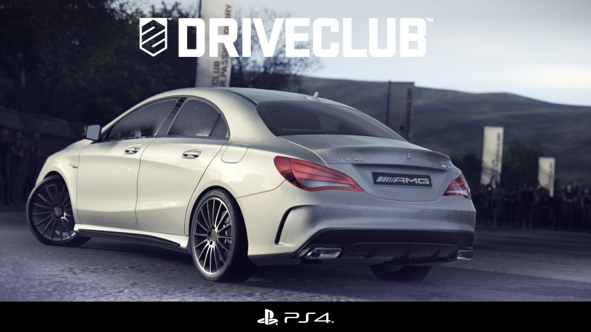 PS4 video game gives early peek at Merc CLA 45 AMG Image #157046