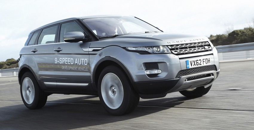 ZF 9HP transmission for Range Rover Evoque – world's first nine-speed auto for a passenger car Image #157465