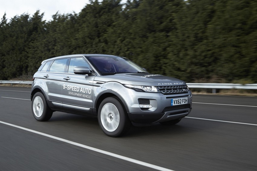ZF 9HP transmission for Range Rover Evoque – world's first nine-speed auto for a passenger car Image #157467