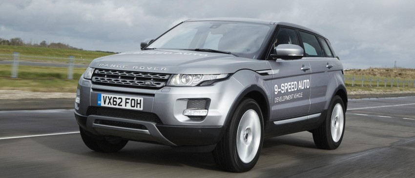 ZF 9HP transmission for Range Rover Evoque – world's first nine-speed auto for a passenger car Image #157468