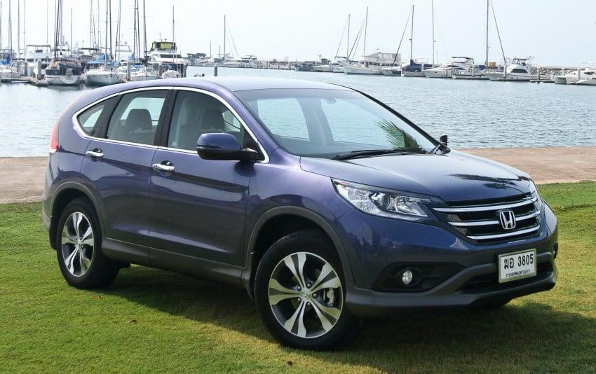 DRIVEN: Honda CR-V fourth-gen tested in Thailand Image #157544