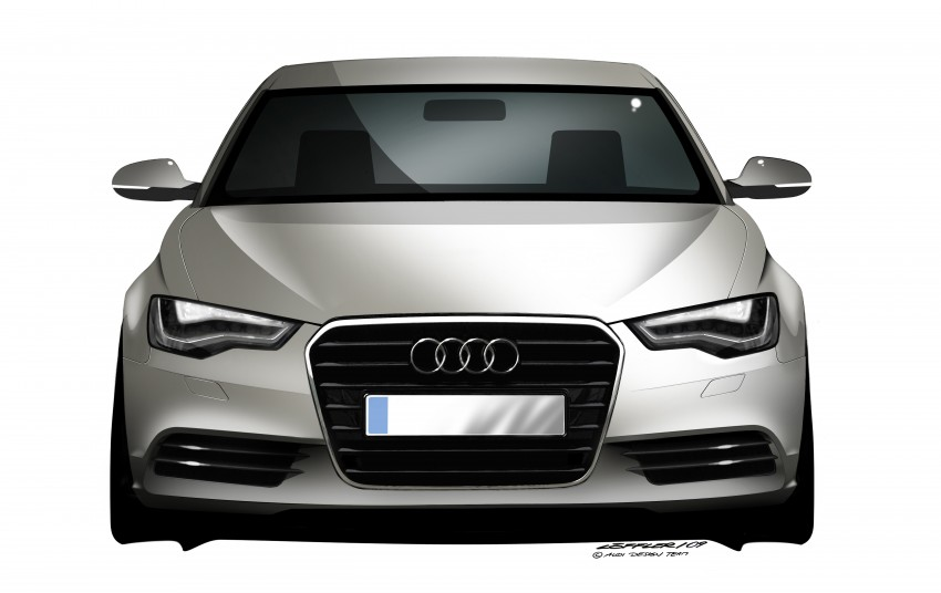 Audi A6 Hybrid officially launched – RM280k starting price, Comfort Key RM3k, reverse camera RM5k Image #157780