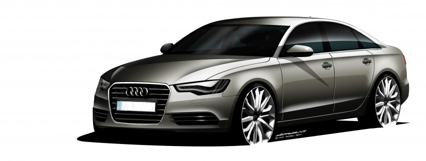 Audi A6 Hybrid officially launched – RM280k starting price, Comfort Key RM3k, reverse camera RM5k Image #157782