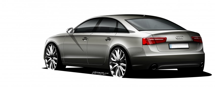 Audi A6 Hybrid officially launched – RM280k starting price, Comfort Key RM3k, reverse camera RM5k Image #157783
