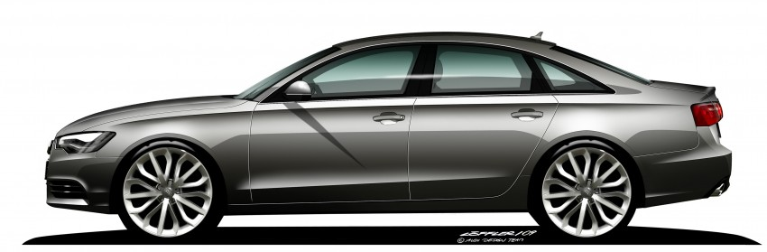 Audi A6 Hybrid officially launched – RM280k starting price, Comfort Key RM3k, reverse camera RM5k Image #157784