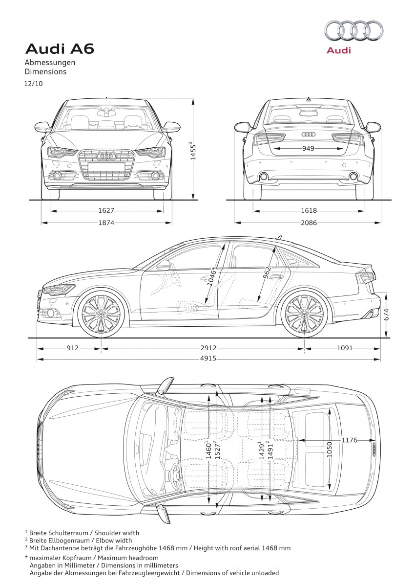 Audi A6 Hybrid officially launched – RM280k starting price, Comfort Key RM3k, reverse camera RM5k Image #157797