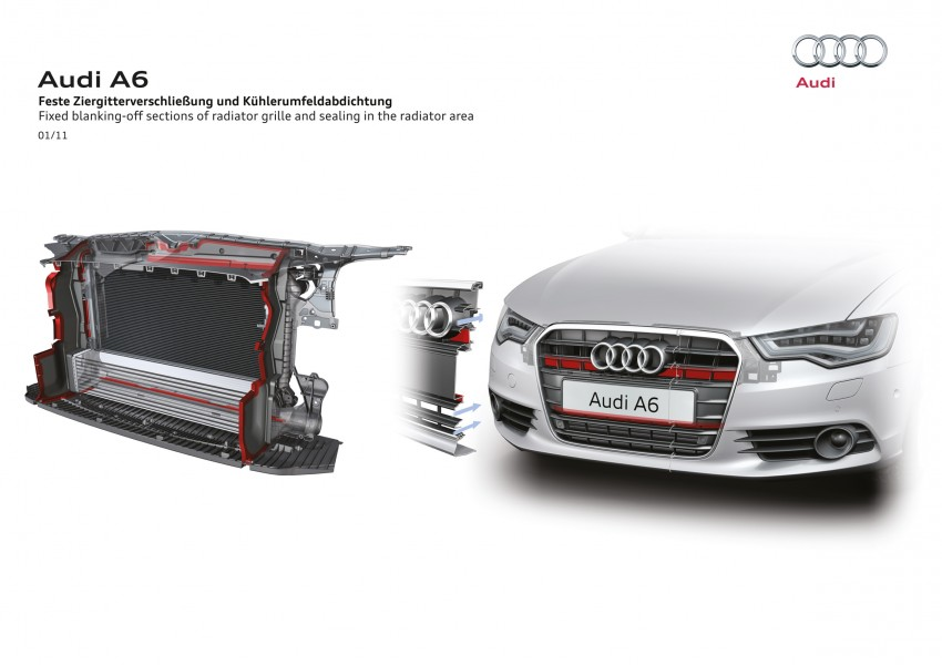 Audi A6 Hybrid officially launched – RM280k starting price, Comfort Key RM3k, reverse camera RM5k Image #157805