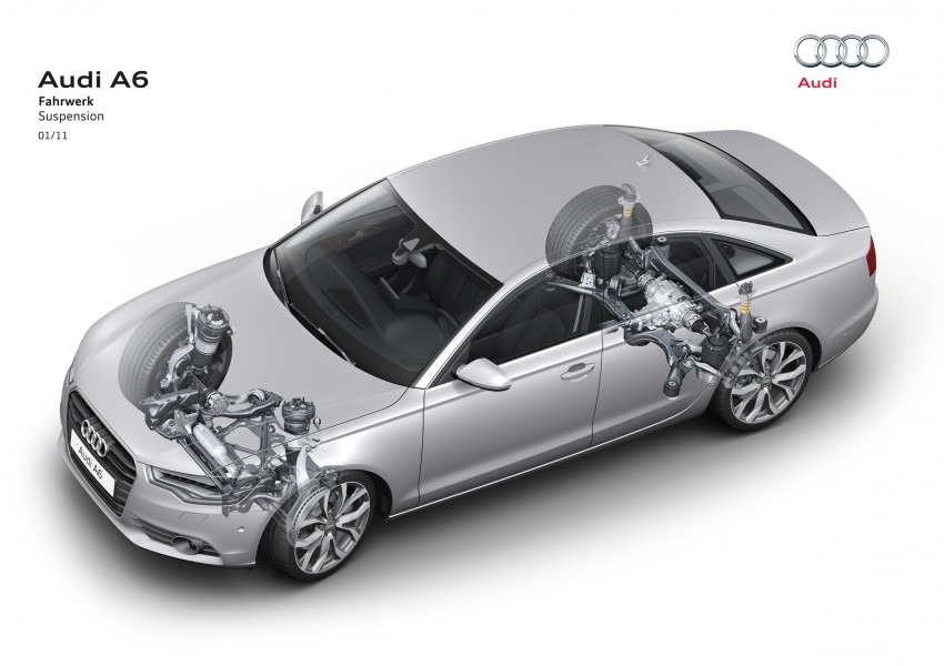 Audi A6 Hybrid officially launched – RM280k starting price, Comfort Key RM3k, reverse camera RM5k Image #157807