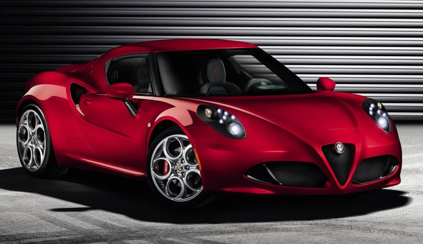 Alfa Romeo 4C – fresh images and details released Image #157137