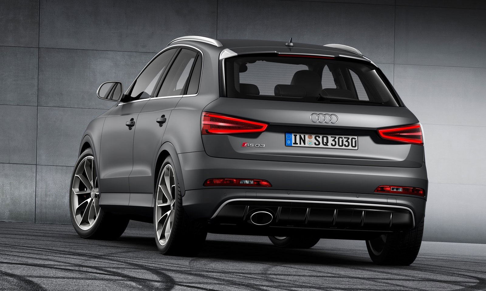 Back to Story: Audi RS Q3 is Geneva-bound – 310 PS, 420 Nm
