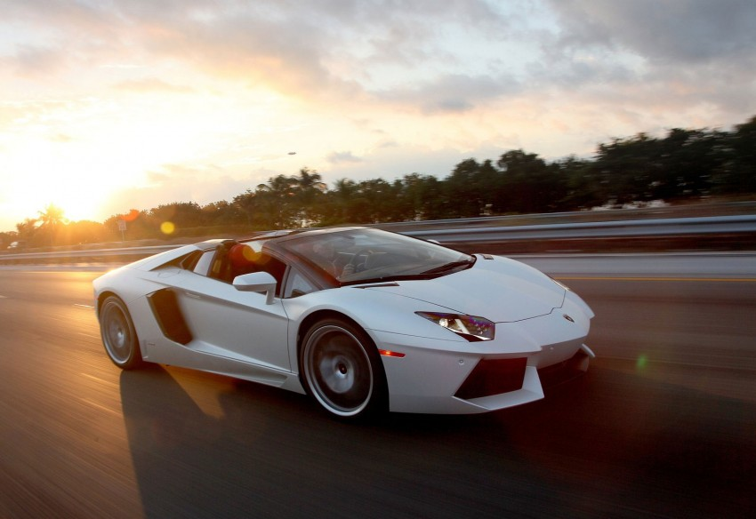 GALLERY: Lamborghini Aventador LP700-4 Roadster Image #157662