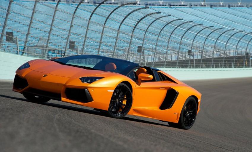 GALLERY: Lamborghini Aventador LP700-4 Roadster Image #157666