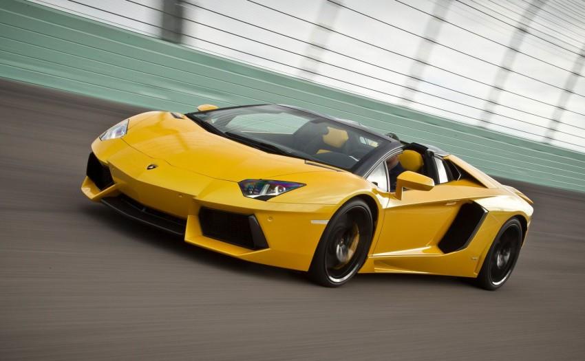GALLERY: Lamborghini Aventador LP700-4 Roadster Image #157667