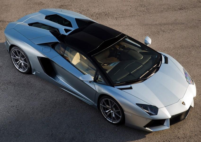 GALLERY: Lamborghini Aventador LP700-4 Roadster Image #157675