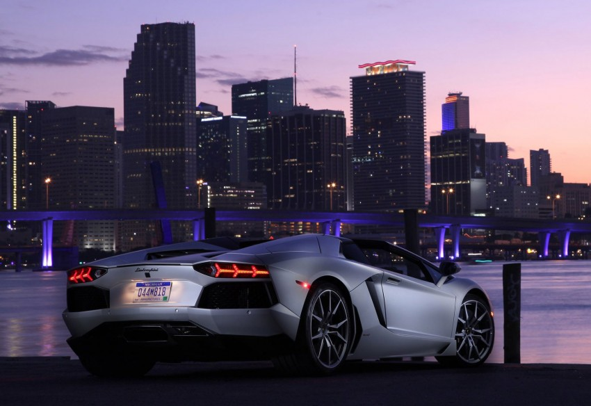GALLERY: Lamborghini Aventador LP700-4 Roadster Image #157676