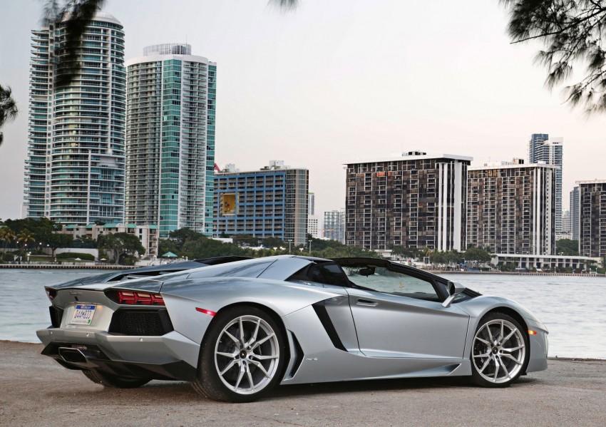GALLERY: Lamborghini Aventador LP700-4 Roadster Image #157680