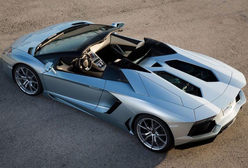 GALLERY: Lamborghini Aventador LP700-4 Roadster Image #157682