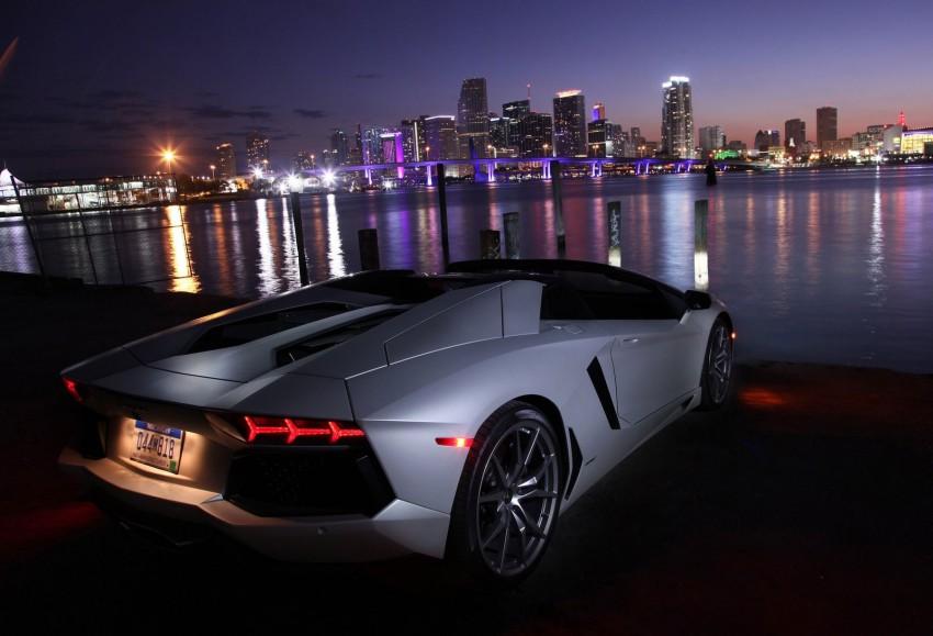 GALLERY: Lamborghini Aventador LP700-4 Roadster Image #157683