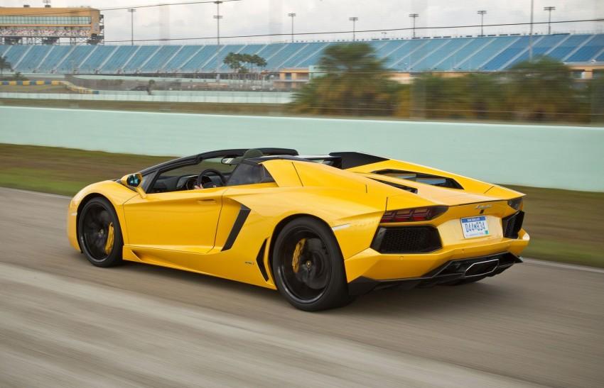 GALLERY: Lamborghini Aventador LP700-4 Roadster Image #157685